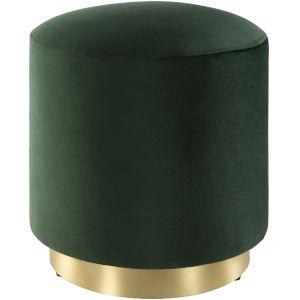 Roxeanne Dark Green Ottoman