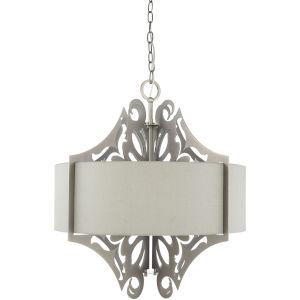 Roxy Grey Three-Light Pendant