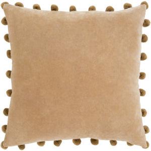 Serengeti Camel 20 x 20 Inch Throw Pillow