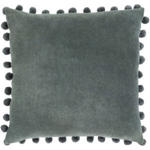 Serengeti Sage and Denim 20 x 20 Inch Throw Pillow