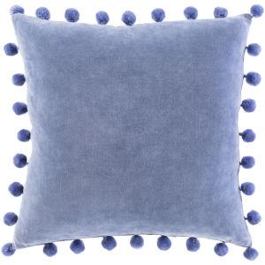 Serengeti Denim 20 x 20 Inch Throw Pillow