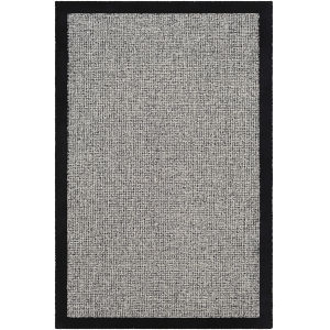 Siena Black Rectangle 4 Ft. x 6 Ft. Rugs
