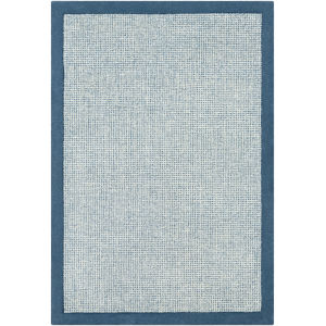 Siena Bright Blue Runner 2 Ft. 6 In. x 8 Ft. Rugs