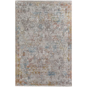 Solar Multicolor Rectangular: 5 Ft. x 7 Ft. 6 In. Rug