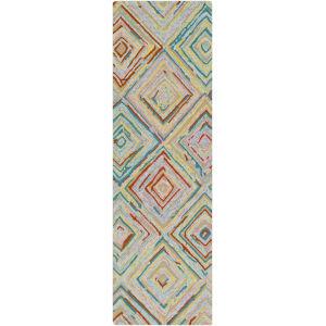 Serafina Multi-Color Runner 2 Ft. 6 In. x 8 Ft. Rugs
