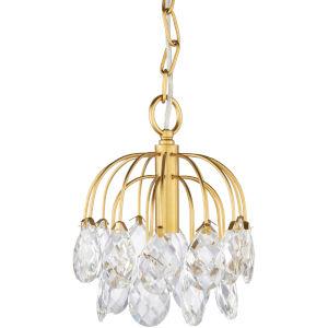 Sariyah Gold One-Light Mini Pendant