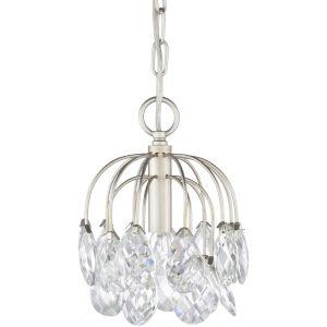 Sariyah Silver One-Light Mini Pendant