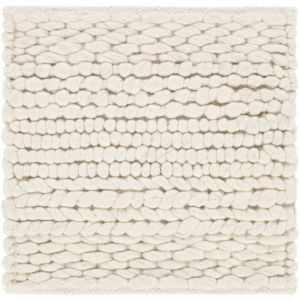 Tahoe Ivory Square: 8 Ft. x 8 Ft. Rug