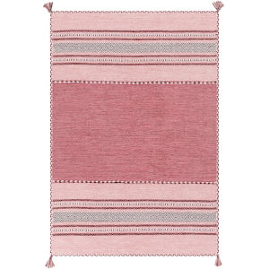 Trenza Bright Pink Rectangle 4 Ft. x 6 Ft. Rugs