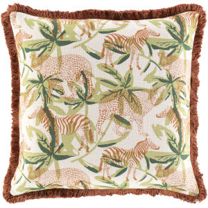 Tanzania Multi-Color 22-Inch Throw Pillow