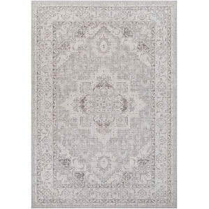 Veranda Taupe Rectangle 6 Ft. 7 In. x 9 Ft. Rug