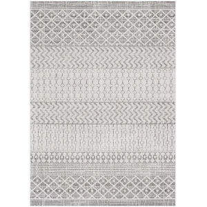 Veranda Black Rectangle 6 Ft. 7 In. x 9 Ft. Rugs
