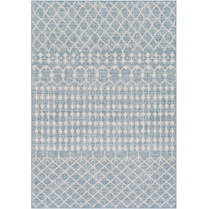 Veranda Dark Blue Rectangle 7 Ft. 10 In. x 10 Ft. 2 In. Rug