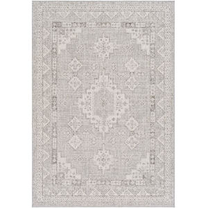 Veranda Taupe Traditional Rectangle 5 Ft. 3 In. x 7 Ft. 3 In. Rug