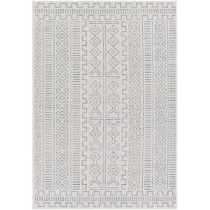 Veranda Dark Blue Rectangle 6 Ft. 7 In. x 9 Ft. Rug