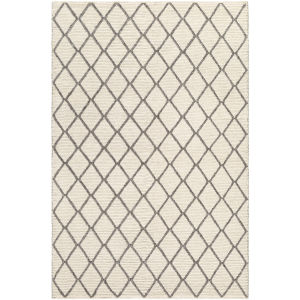 Whistler Cream And Charcoal Rectangular: 8 Ft. X 10 Ft. Rug