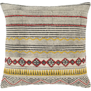 Zoya Multi-Color 20-Inch Throw Pillow