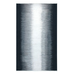 Daybreak Black Polyester Rectangular: 3 Ft x 5 Ft Outdoor Area Rug