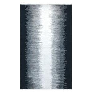 Daybreak Black Polyester Rectangular: 5 Ft x 8 Ft Outdoor Area Rug