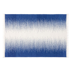 Daybreak Blue Polyester Rectangular: 2 Ft x 3 Ft Outdoor Area Rug