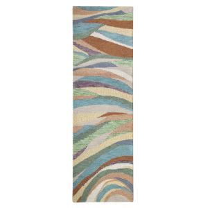 Desert Wind Multicolor Wool Runner: 2 Ft 6 In x 8 Ft