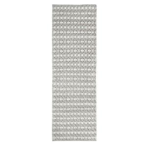 Pebbles Gray Polyester Runner: 2 Ft 6 In x 8 Ft