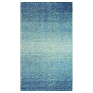 Sari Stripe Blue Rectangular: 3 Ft. x 5 Ft. Rug