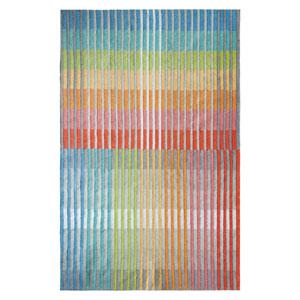 Chromatic Plaid Multicolor Rectangular: 5 Ft. x 8 Ft. Indoor/Outdoor Rug