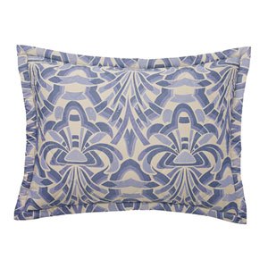 Axelle Quilted Slate Standard Sham