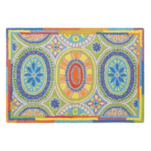 High Jinks Multicolor Rectangular: 2 Ft. x 3 Ft. Rug