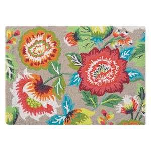 Cream of the Crop Multicolor Rectangular: 2 Ft. x 3 Ft. Rug