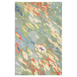 Reflections Multicolor Rectangular: 3 Ft. x 5 Ft. Rug