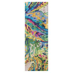 Galleria Multicolor Runner: 2 Ft. 6 In. x 8 Ft. Rug