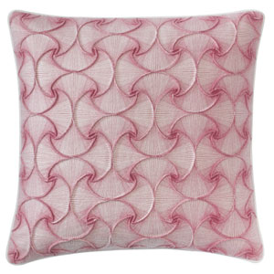DejaVu Berry 22 In. Throw Pillow with Down Insert