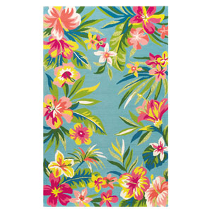 Mai Tai Multicolor Rectangular: 3 Ft. 6 In. x 5 Ft. 6 In. Indoor/Outdoor Rug
