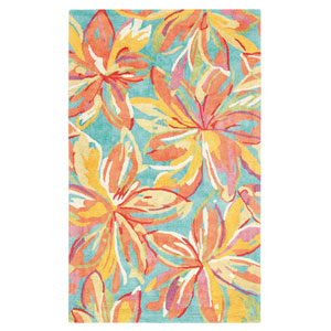 Petaluma Multicolor Rectangular: 5 Ft. x 8 Ft. Rug