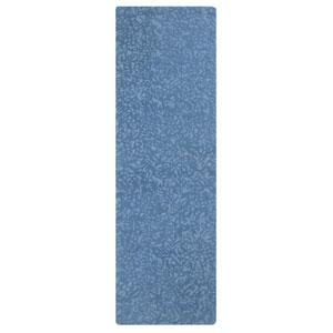 Crackle Blue Iris Runner: 2 Ft. 6 In. x 8 Ft. Rug
