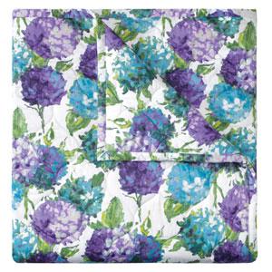 Hydrangea Blue King Quilt