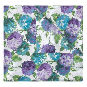 Hydrangea Blue Full/Queen Duvet
