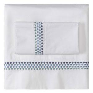 Jewels Blue King Pillow Case Pair