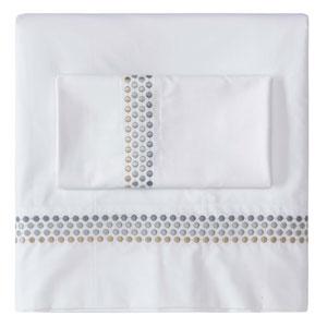 Jewels Platinum King Pillow Case Pair