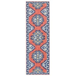 Old Glory Newport Red Runner: 2 Ft. 6 In. x 8 Ft. Rug