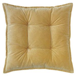 Talia Velvet Camel 20 In. Pillow