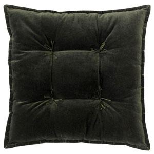 Talia Velvet Loden 20 In. Pillow