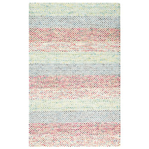 Sampler Stripe Multicolor Rectangular: 3 Ft. x 5 Ft. Indoor Rug