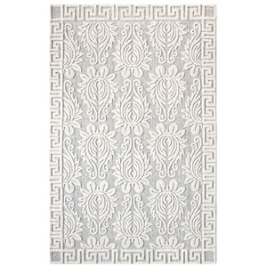 Savoy Pewter Rectangular: 5 Ft. x 8 Ft. Indoor Rug