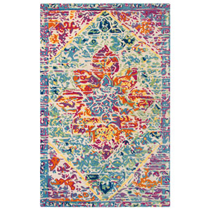 Rhapsody Multicolor Rectangular: 5 Ft. x 8 Ft. Indoor Rug