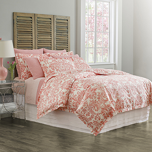 Kate Coral Twin Duvet