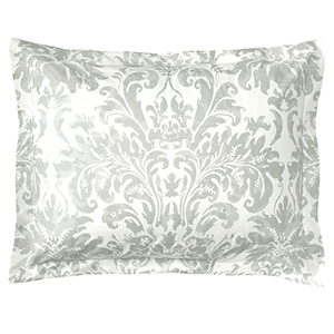 Kate Pewter King Duvet Sham