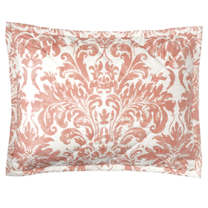 Kate Coral Standard Quilted Sham
